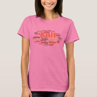 Camiseta Léxico de confecção de malhas - palavras a fazer