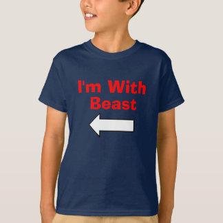 Camiseta LFTARROW, eu sou com, animal