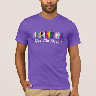 Camiseta LGBT nós as pessoas do t-shirt do design