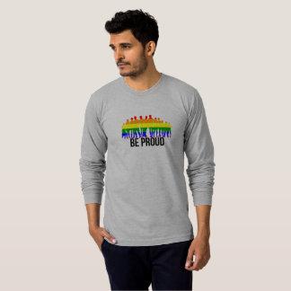 Camiseta LGBT seja orgulhoso