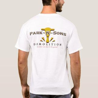 Camiseta Lght t de Cnstrctn dos filhos do parque N