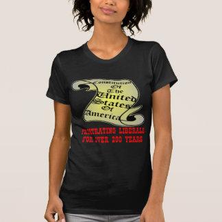 Camiseta Liberais frustrantes da constituição dos E.U.