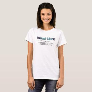 Camiseta Liberais tolerantes