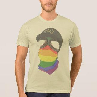 Camiseta Liberal e fascismo - t-shirt poli do algodão