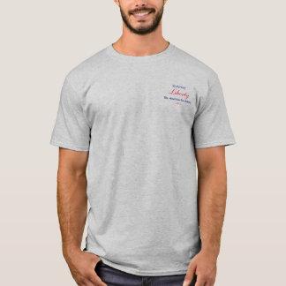 Camiseta Liberdade, a Revolução Americana