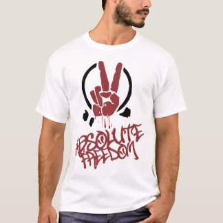 Camiseta Liberdade absoluta! O t-shirt da cara