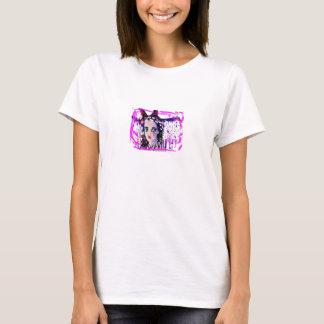 Camiseta LIBERDADE com um só olho da boneca