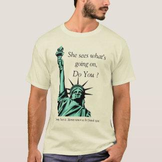 Camiseta Liberdade de grito