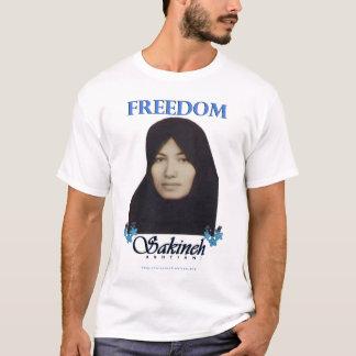 Camiseta Liberdade de Sakineh Ashtiani