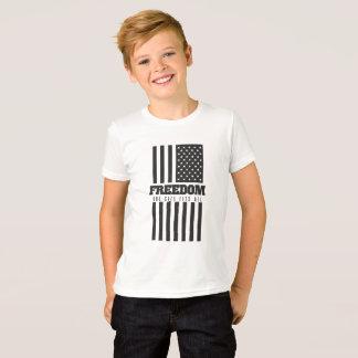 Camiseta Liberdade: Um tamanho cabe tudo