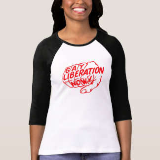 Camiseta Libertação alegre agora! T-shirt