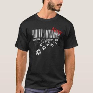 Camiseta Libertação animal AGORA