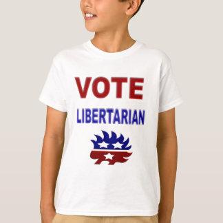 Camiseta Libertário do voto