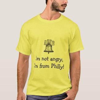 Camiseta liberty-bell-3, eu não estou irritado, mim sou de
