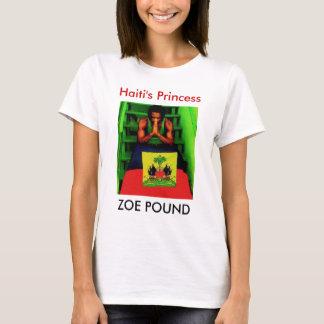 Camiseta LIBRA de ZOE, a princesa de Haiti