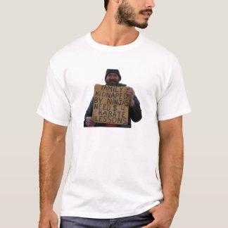 Camiseta Lições do karaté