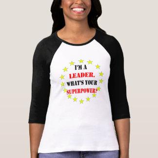 Camiseta Líder do super-herói