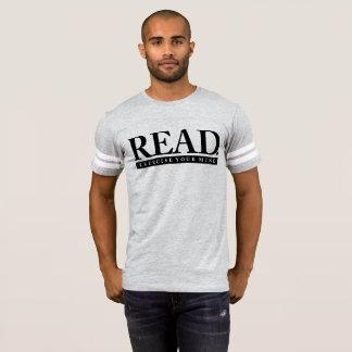 Camiseta LIDO. Exercite sua mente