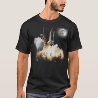 Camiseta Liftoff do vaivém espacial