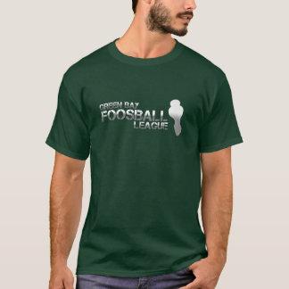 Camiseta Liga de Foosball do Green Bay