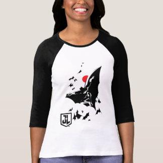 Camiseta Liga de justiça | Batman na nuvem do pop art dos