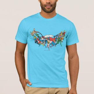 Camiseta Liga de justiça do grupo 2 de América