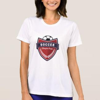Camiseta Liga formal do campeonato da equipe de futebol