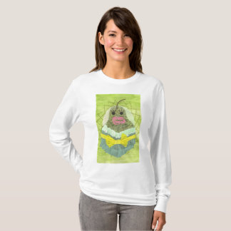 Camiseta Ligação em ponte da senhora Pera Mulher