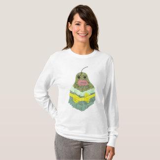 Camiseta Ligação em ponte da senhora Pera Nenhum Fundo