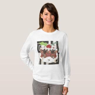 Camiseta Ligação em ponte da Senhora Pudim Mulher