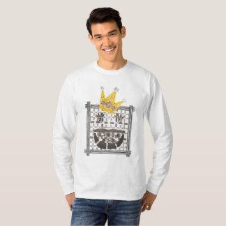 Camiseta Ligação em ponte do rei Sudoku Homem