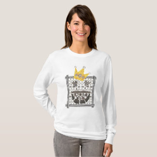 Camiseta Ligação em ponte do rei Sudoku Mulher