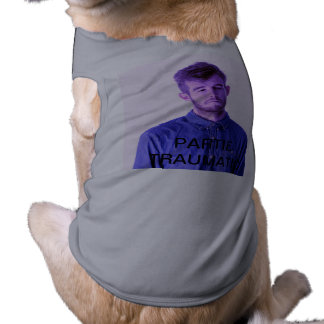 Camiseta Ligação em ponte traumático divertida do cão de Pa