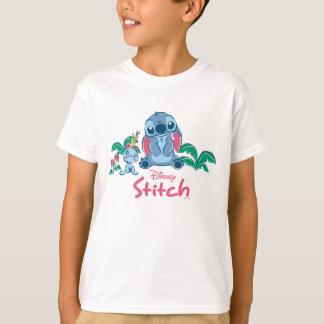 Camiseta Lilo & ponto & Scrump de Stich  