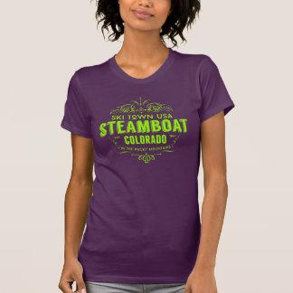 Camiseta Limão do Victorian do barco a vapor