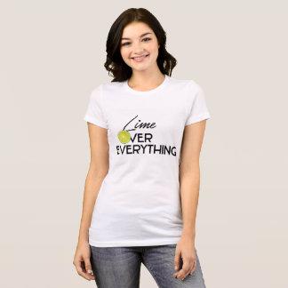 Camiseta Limão sobre tudo T