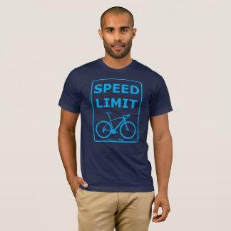 Camiseta Limite de velocidade de Rex do arco-íris: Azul