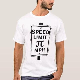 Camiseta Limite de velocidade Pi