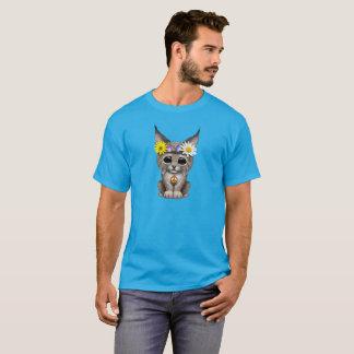 Camiseta Lince bonito Cub do Hippie