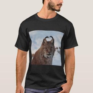 Camiseta Lince no t-shirt da neve