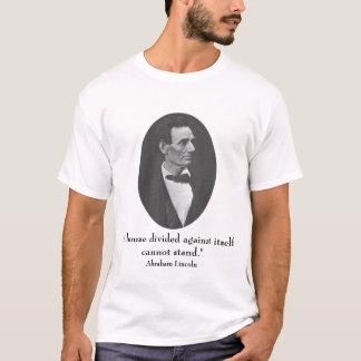 Camiseta Lincoln e citações