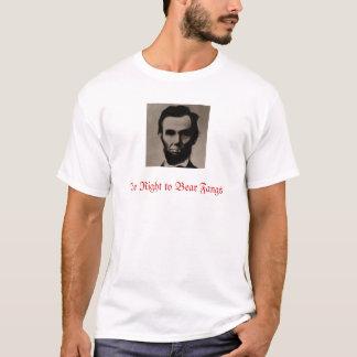 Camiseta Lincoln o direito de carregar presas