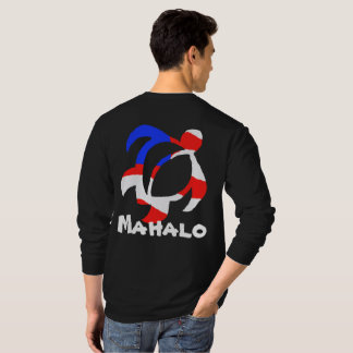 Camiseta LineA EUA Mahalo Honu