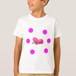 Camiseta Língua Burmese (de Myanmar) do design do amor