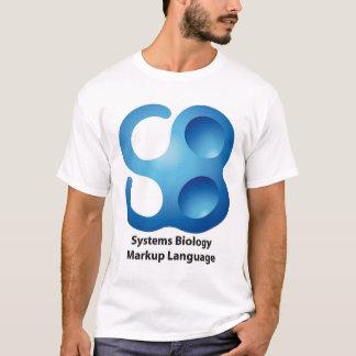 Camiseta Linguagem de marcação da biologia de sistemas