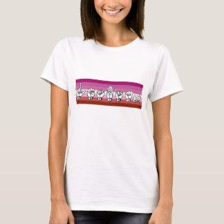 Camiseta Linguagem gestual americano LGBT do orgulho
