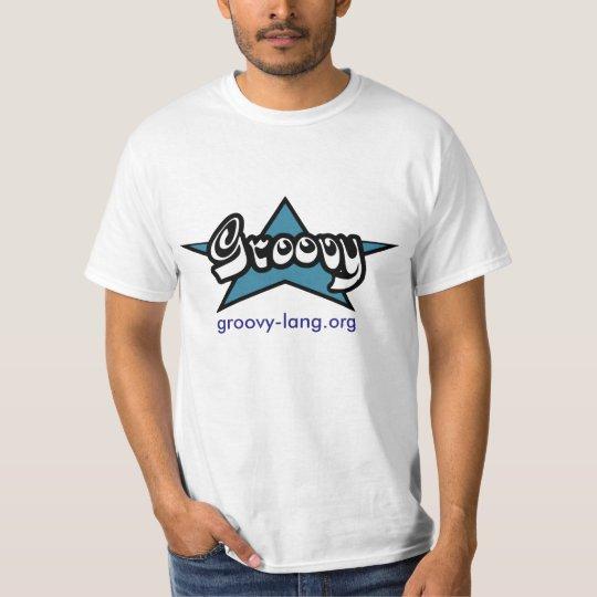 Camiseta Linguagem Groovy
