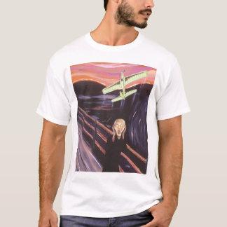 Camiseta Linha de controle gritar