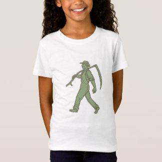 Camiseta Linha de passeio do Scythe orgânico do fazendeiro