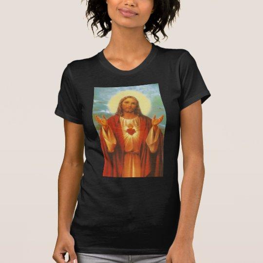 Camiseta Linha de Produtos Sagrado Coração de Jesus